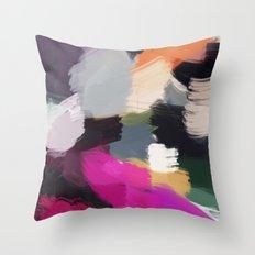 Colores Throw Pillow