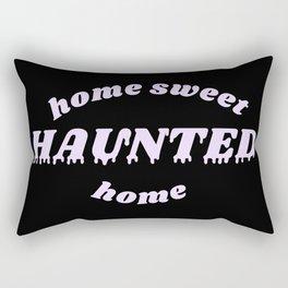 home sweet haunted home Rectangular Pillow