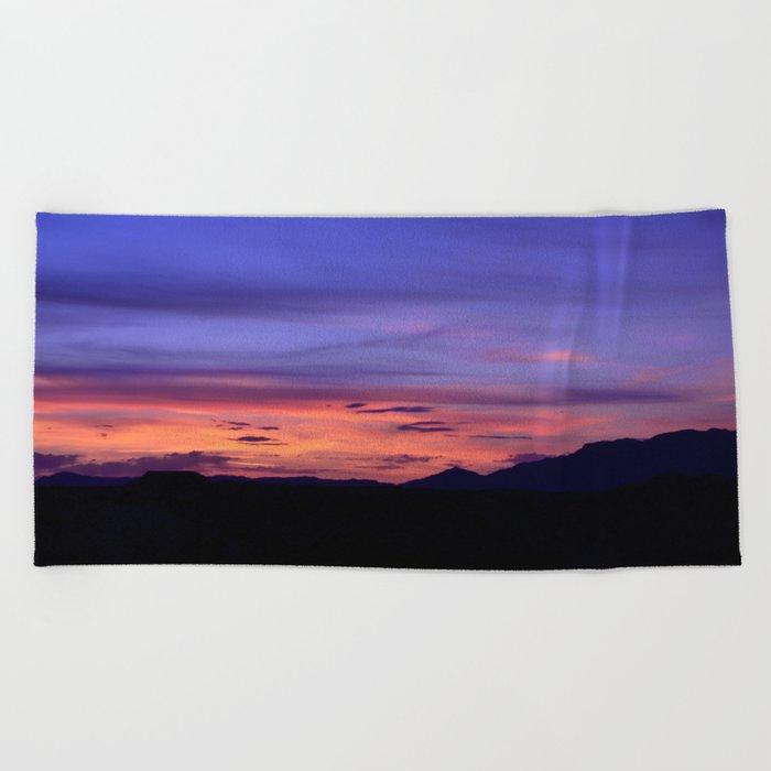 Southwest Sunrise Beach Towel