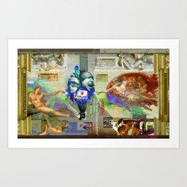 [CREATIV] (The Human Condition Collection) Art Print