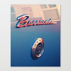 Barracuda Americana Canvas Print