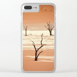NAMIBIA ... Deadvlei III Clear iPhone Case