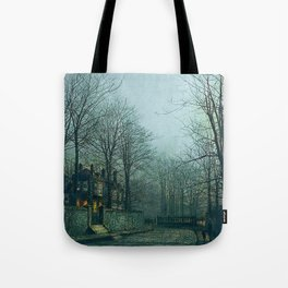 Morning Street Tote Bag