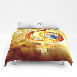 Sailor Venus - Crystal Planet edit. Comforters