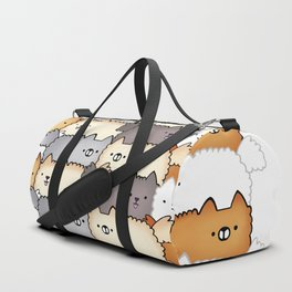 Sweet Little Fluff Balls Duffle Bag