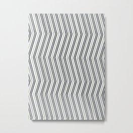 Zig Zag I Metal Print