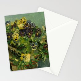 "Vincent van Gogh ""Basket of Pansies"" Stationery Cards"