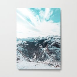 Stormy Cold Day Metal Print