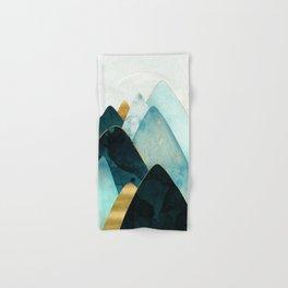 Gold and Blue Hills Hand & Bath Towel