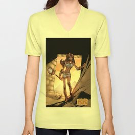 Legend of Isis by Randy Green Unisex V-Neck