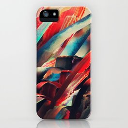 64 Watercolored Lines iPhone Case