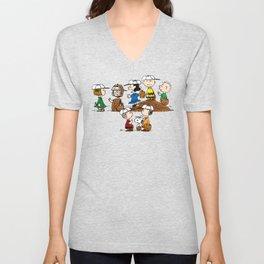 Snoopy Family Unisex V-Neck