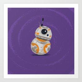 Li'l BB-8 Art Print