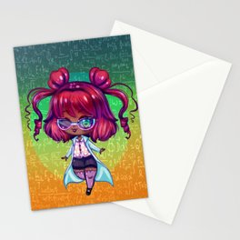 Magical Science Gal Stationery Cards