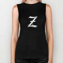 Letter Z Biker Tank