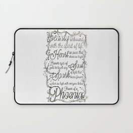 Phoenix Series, Poem in English (Part 2 0f 3) Laptop Sleeve