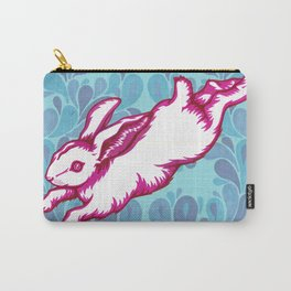 Leaping Rabbit Carry-All Pouch