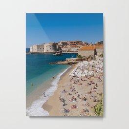 Banje Beach Metal Print