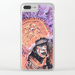 Big Chief Clear iPhone Case