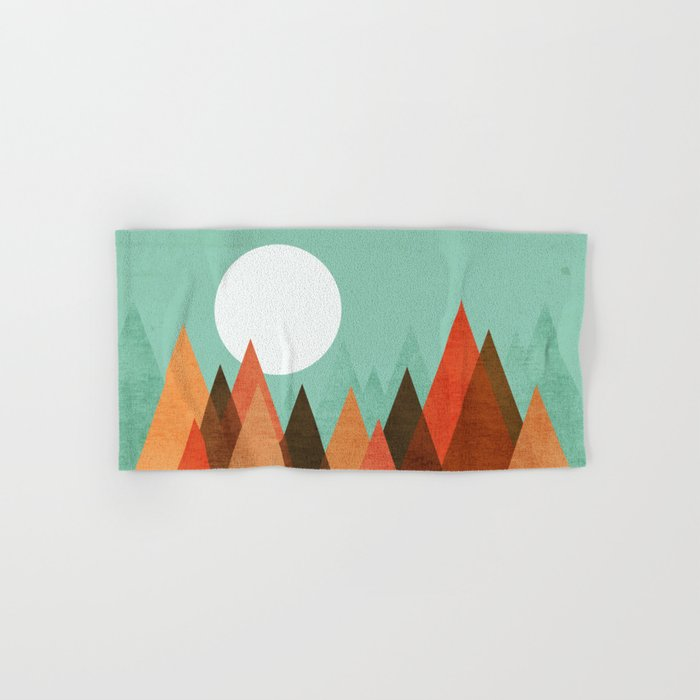 From the edge of the mountains Hand & Bath Towel