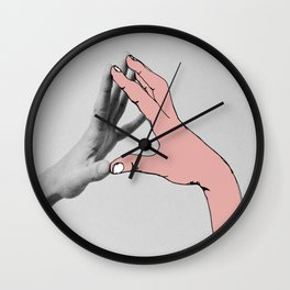 Touch Wall Clock