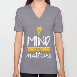Mind over Mattress Unisex V-Neck