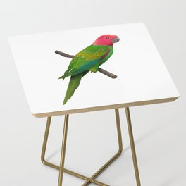 Colorful Parrot 2 Side Table