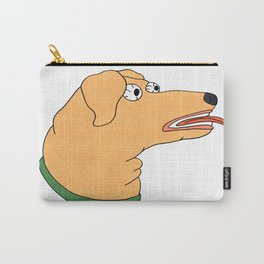 Sketchy Dog Head Carry-All Pouch