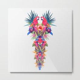Parrot Kingdom Metal Print