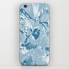 The blue mask iPhone & iPod Skin