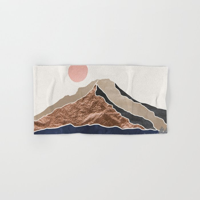 Mount Hood Oregon - Daylight Wilderness Hand & Bath Towel