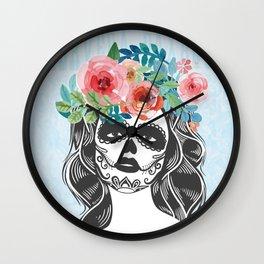 La Calavera Catrina Wall Clock