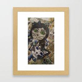 Alley Kats Framed Art Print