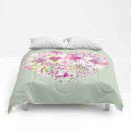 Blush Heart Comforters