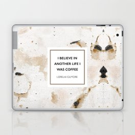 I believe in another life I was coffee Laptop & iPad Skin