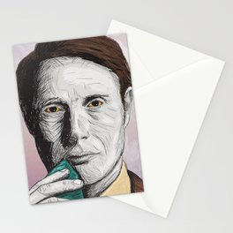 Dr Hannibal Lecter Stationery Cards