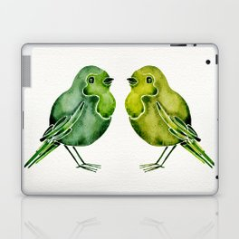 Parakeets Laptop & iPad Skin