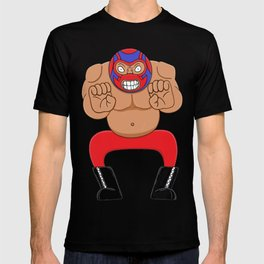 Angry wrestling T-shirt