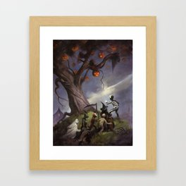 The Halloween Tree Framed Art Print