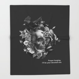 Burcu Korkmazyurek x Rituals of Mine Throw Blanket