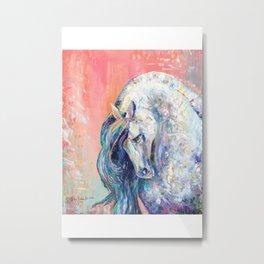 Horse portrait, Stallion, Stud Metal Print
