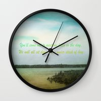 poem Wall Clocks featuring Summer Poem by Armine Nersisian