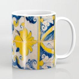 Portuguese azulejos, city of Ericeira Coffee Mug
