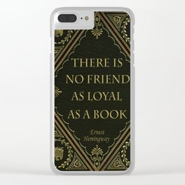Book Quote 10 Clear iPhone Case
