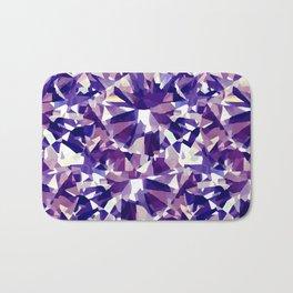 Purple Diamond Bath Mat