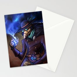 Steampunk Time Traveller Stationery Cards