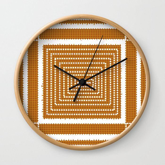 Morning Quilting Time Wall Clock