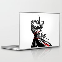 assassins creed Laptop & iPad Skins featuring Assassins Creed  by iankingart