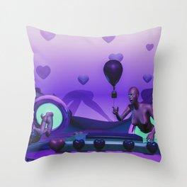 Odd Smoothie Throw Pillow