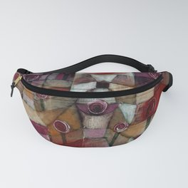 Rose Garden by Paul Klee Fanny Pack